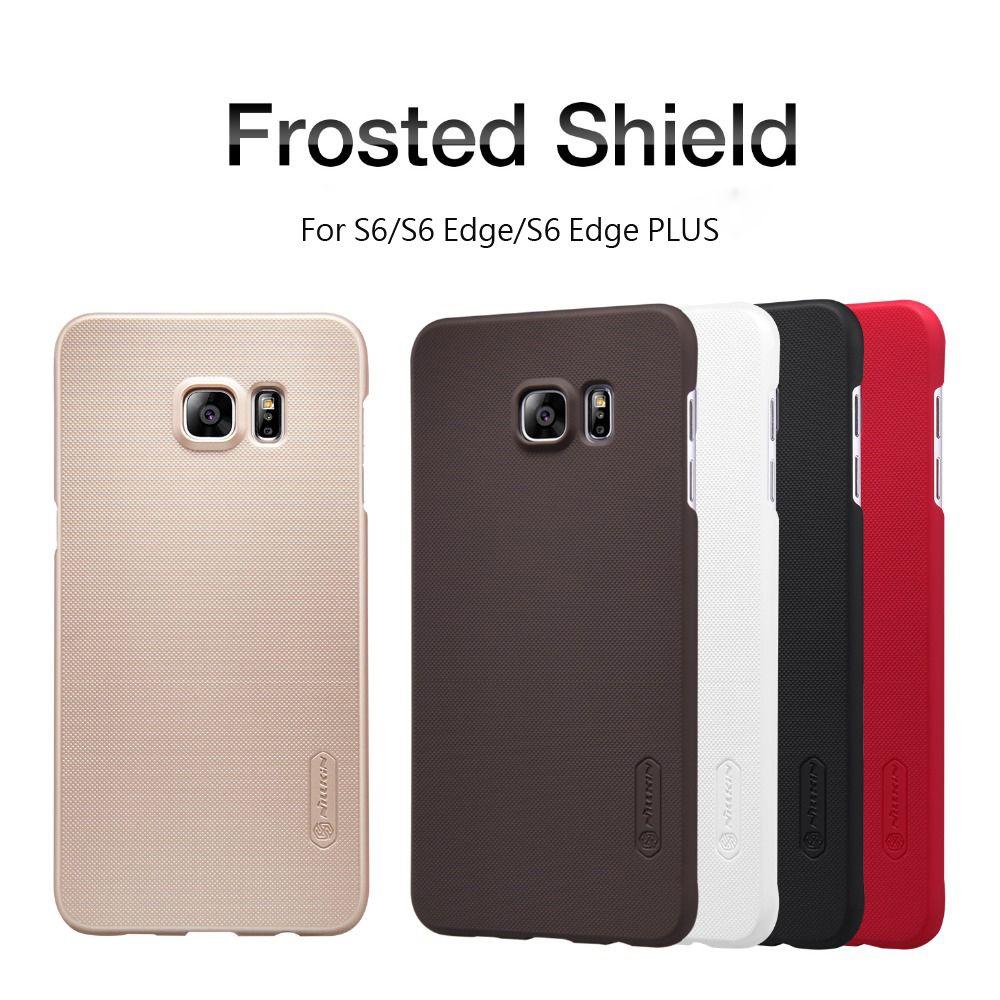Cas de couverture arrière pour Samsung Galaxy S6/S6 Bord/S6 Bord PLUS NILLKIN Super Givré Bouclier cas avec livraison écran protecteur