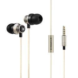Original EINSEAR T2 In Ear Earphone Dynamic 3.5mm Stereo Headset Earbuds Aerospace Aluminum Alloy Earphones