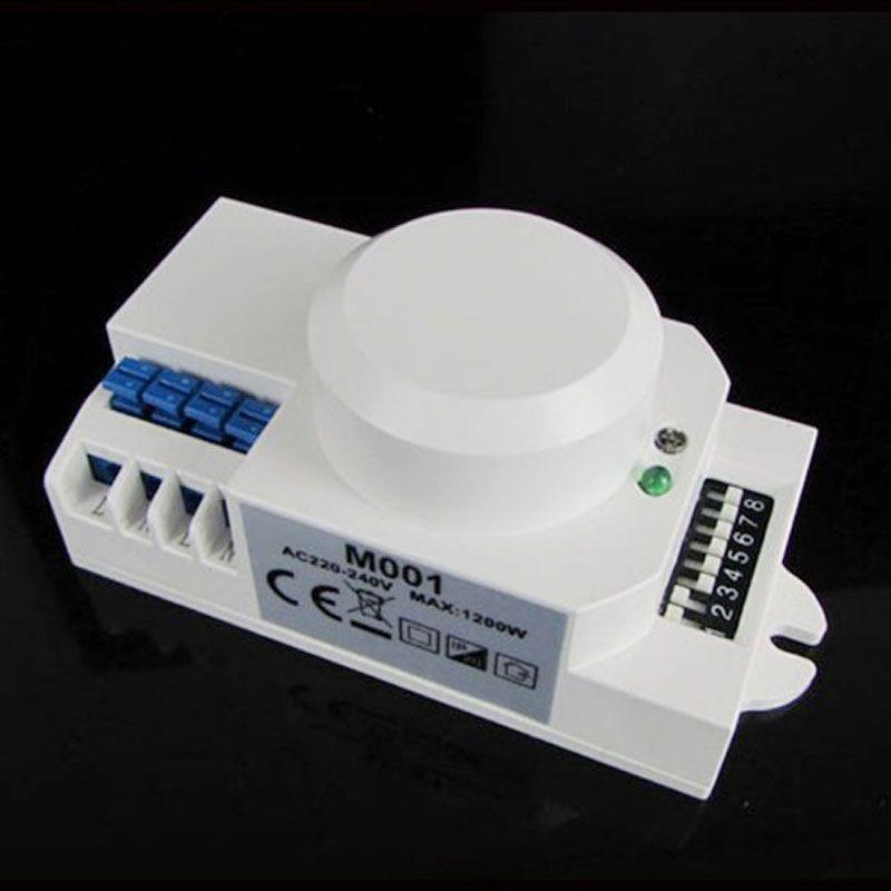 110 V/AC-240V/AC 360 degrés micro-ondes capteur lumière interrupteur Induction micro-ondes détecteur de mouvement capteur de Vibration