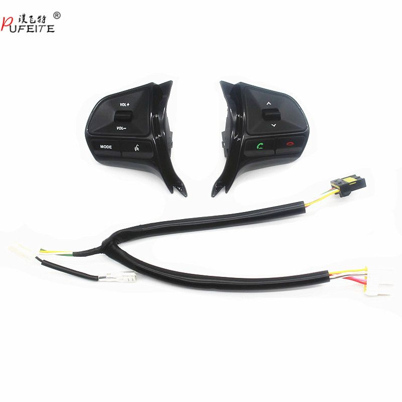 for KIA RIO 2011-2014 multifunctional steering wheel control button  Audio phone volume switch for bluetooth car accessories