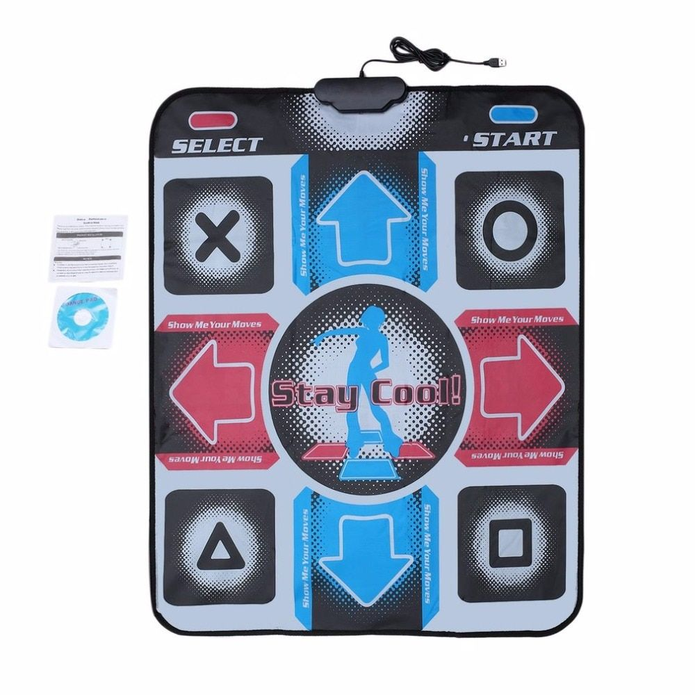 dance pad Dancing Step Dance Mat Pad Pads Dancer Blanket <font><b>Equipment</b></font> Revolution HD Non-Slip Foot Print Mat to PC with USB