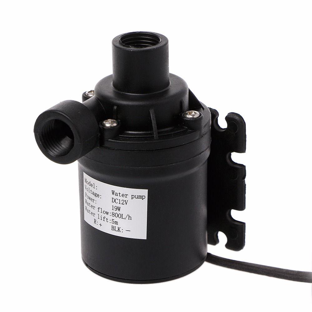 Pompe à eau de Circulation de moteur sans brosse de pompe solaire de l'eau de 800L/H 5 m DC 12 V avec les pompes de prise de 4 p