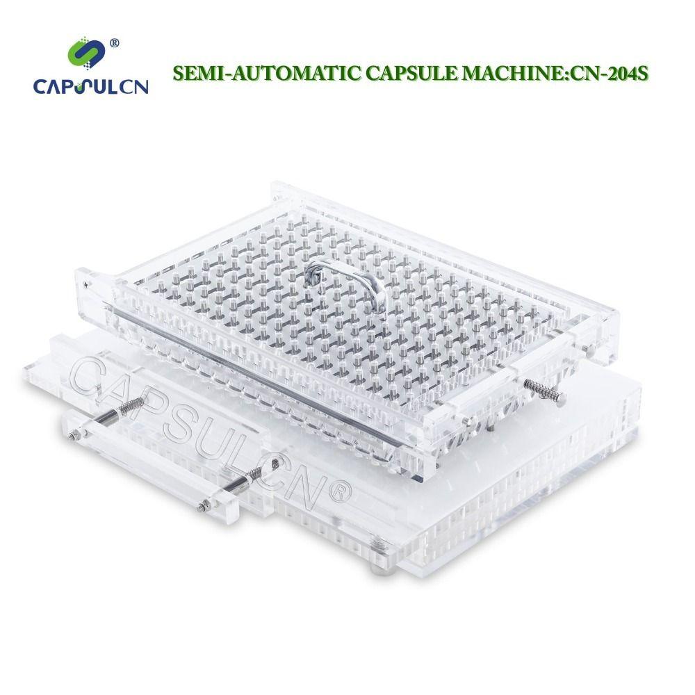 CapsulCN204-S Semi-Automatic Size 4 Capsule Machine/Capsule Filler/Capsule Filling Machine