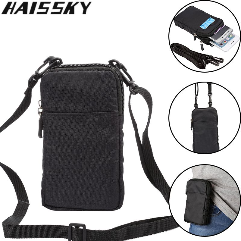 Haissky 6.0 ''étui pour téléphone portable universel étanche en cours d'exécution étui pour iphone 7 6 6 S Plus 5 5 S Samsung S8 S7 edge S6 S5 sac de taille