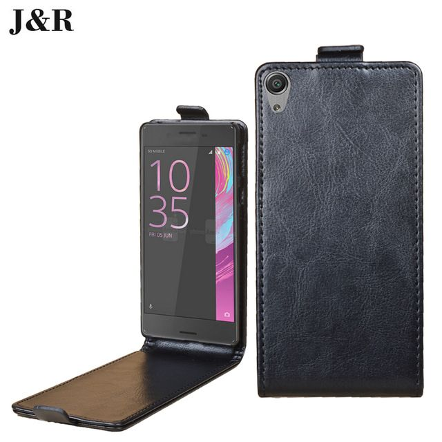 Luxury leather case for Sony Xperia E5 F3311 flip cover case housing for Sony Xperia E 5 / F 3311 mobile phone covers cases