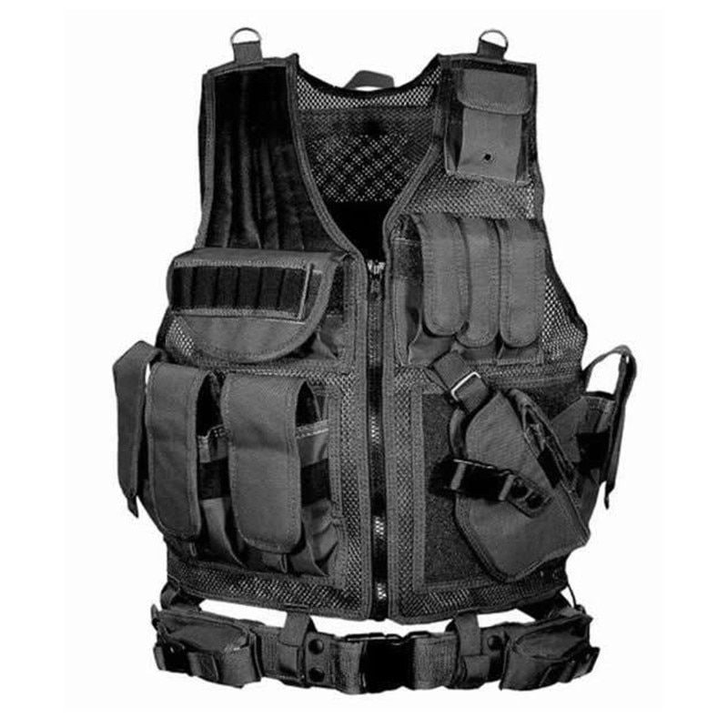 Multifunctional Police Tactical Vest military Swat Molle Body Armor Sports Wear Hunting Vest