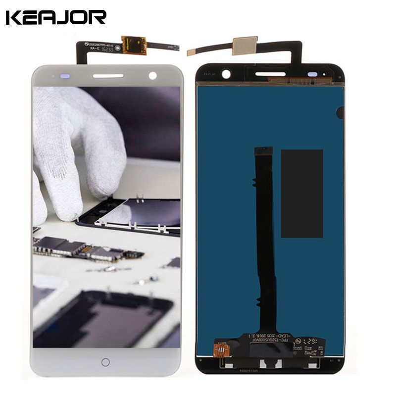 for ZTE Blade V7 LCD Display Touch Screen AAA Tested LCD Screen Replacement for ZTE Blade V7 5.2 inch Black White