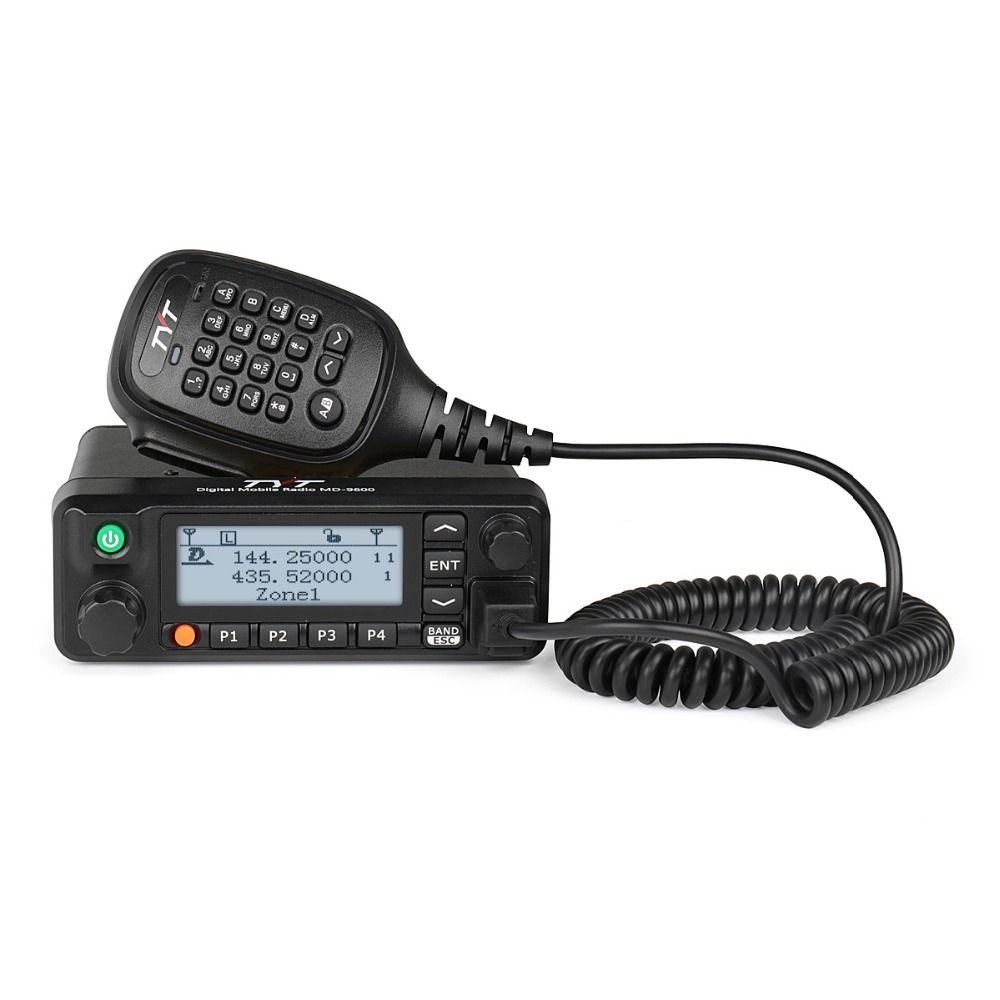 TYT MD-9600 Dual Band DMR Mobile Auto Lkw Transceiver 136-174/400-480 mhz 3000 CH 50/45 /25 watt Amateur Ham Radio Programmierung kabel
