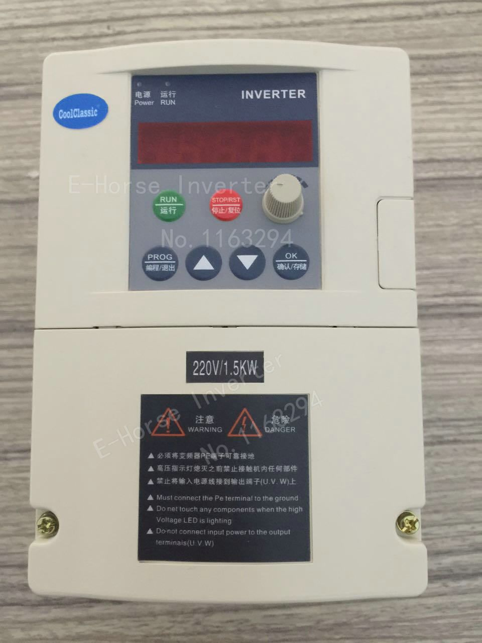 Frequency <font><b>converter</b></font> ZW-S2015 1.5KW CoolClassic Inverter single phase Input and 220v 3-phase output without control line
