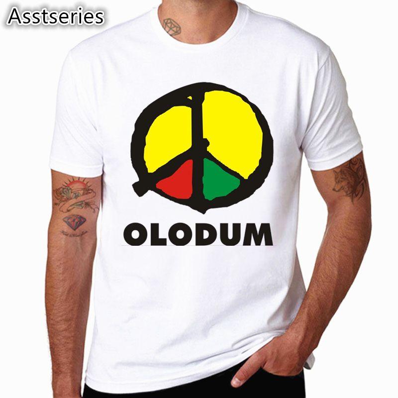 S-XXXL hommes femmes imprimer rétro Antiwar Michael Jackson MJ OLODUM T-shirt à manches courtes col rond été T-shirt unisexe