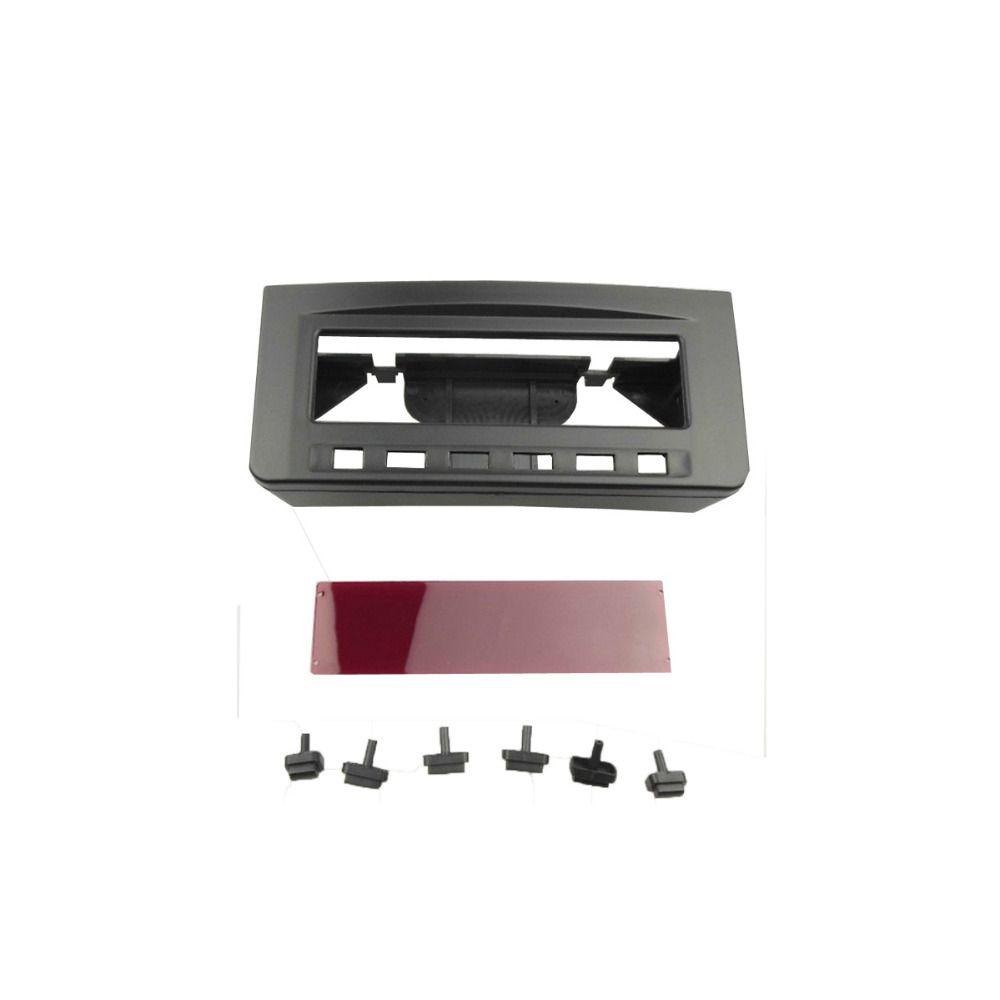 For Misubishi L200 Triton Pajero Sport II Challenger Double Din Fascia Radio Dash Installation Trim Kit Face Plate Bezel Frame