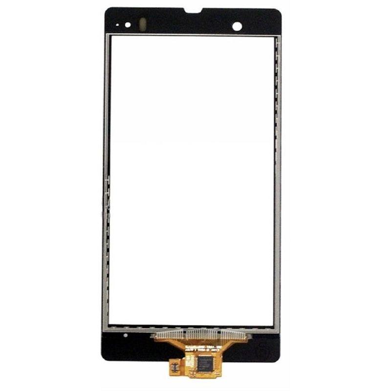 Black For Sony Xperia Z L36h L36i C6606 C6603 C6602 Outter Touch Screen Digitizer Sensor Glass Panel Repair Replacement Parts