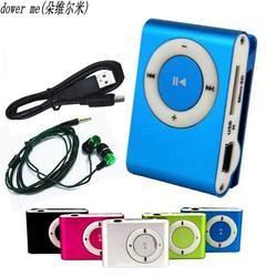 2018 новые наушники Mp3 музыкальный плеер MP3-плеер Поддержка Micro TFCard слот USB Mp3 S порт плеер USB порт с наушниками для телефона