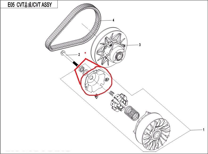 GENEIGT PLATTE/WASHER/MUTTER ANZUG FÜR CFMOTO CF550/191R-X550 ATV TEILE NO. 0 IST 0GR0-051002