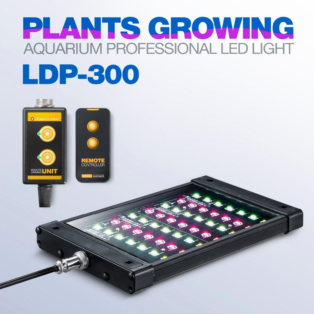 LICAH Fresh Water Aquarium Plant LED LIGHT LDP-300 Free Shpping
