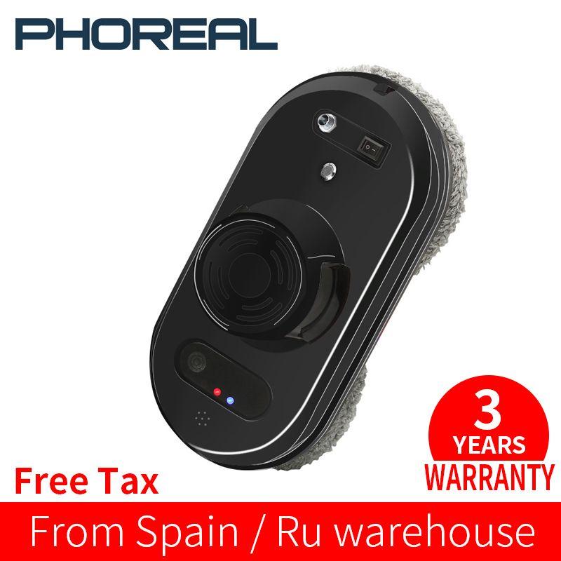 PhoReal FR-S60 Fenster Reinigung Roboter Hohe Saug Elektrische Fenster Reiniger Roboter Anti-fallen Fernbedienung Roboter Staubsauger