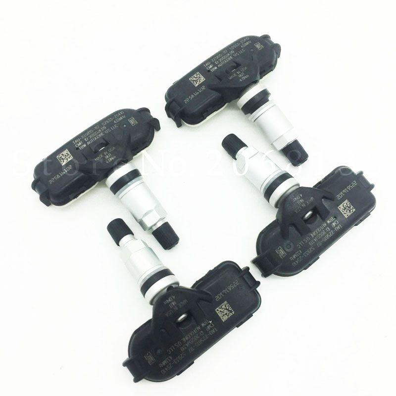 4PCS Original 52933-2S410 529332S410 433MHz Original TPMS Sensor For Hyundai IX35 Elantra Equus i40 Kia Sportage