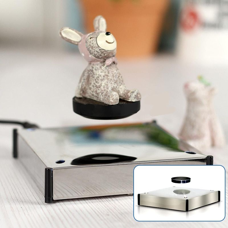 Rotating Magnetic Levitron Floating Show Shelf Holder Display Plateform for Products Display Electric Magnetic Levitron Mayitr