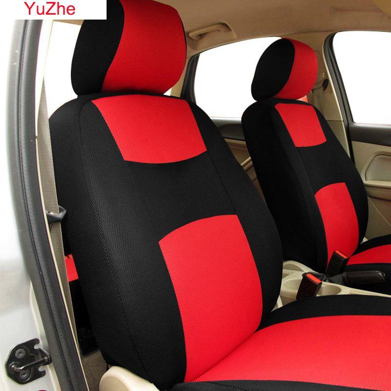 Yuzhe 1 PCS/SET Universal automobiles car seat covers for suzuki grand vitara prado 120 skoda octavia vw golf car accessories