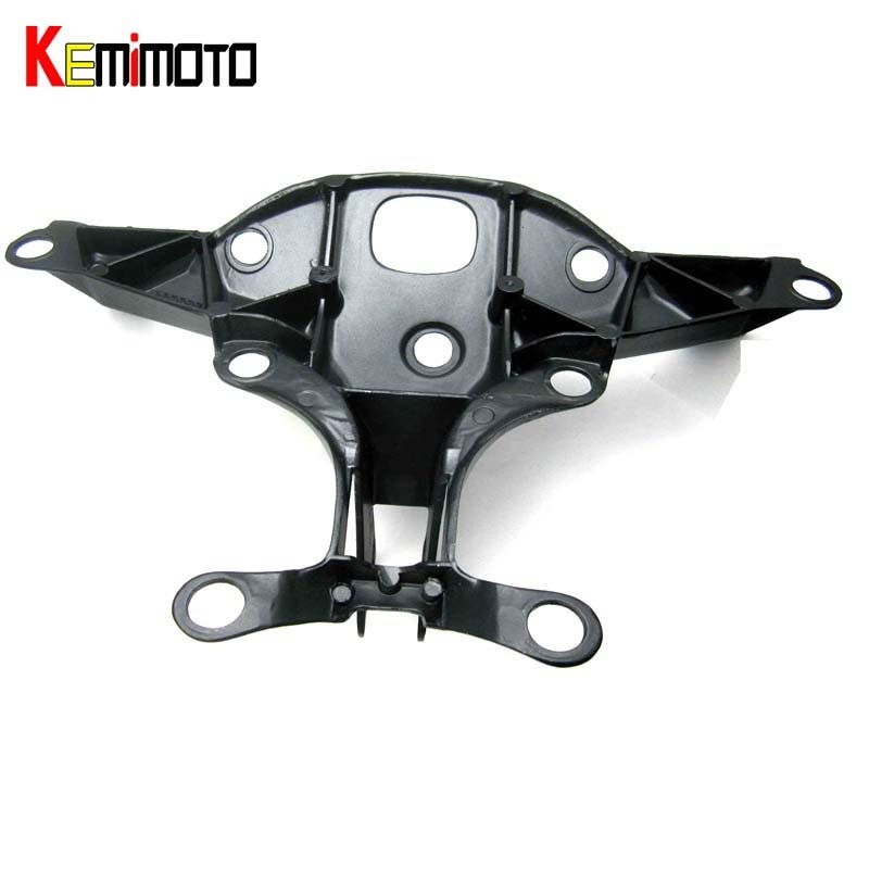 KEMiMOTO Fairing Stay Bracket Cowling Headlight For Yamaha YZF R1 YZF-R1 2004 2005 2006 YZFR1 Motorcycle Accessories