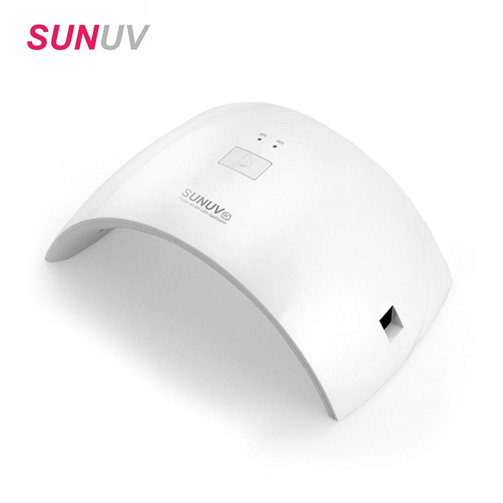 SUNUV SUN9c 24w LED Lamp Nail Dryer Gel Nail Polish Dryer UV Nail Lamp for Women Use for All Gels Uv Lamp for Gel Nail Machine