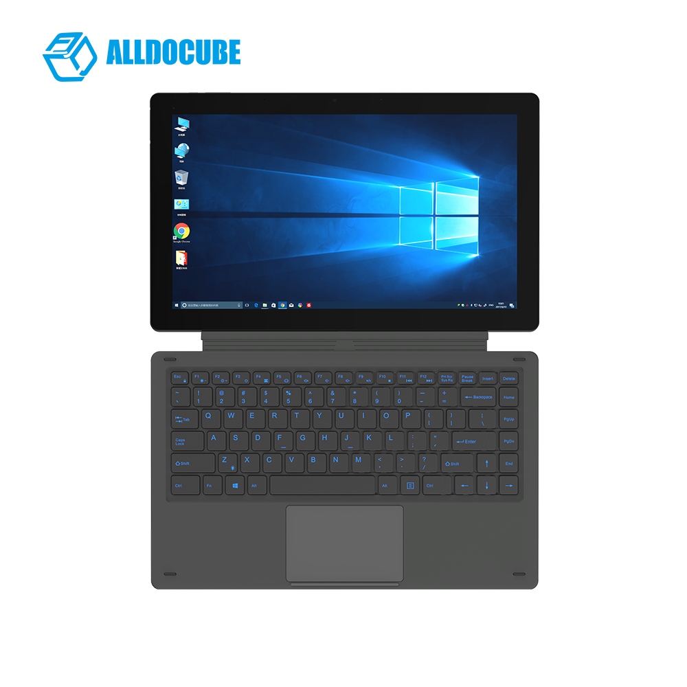 ALLDOCUBE Knote8 2 IN 1 Tablet PC 13.3 Inch Full View 2560x1440 IPS Windows10 intel Kabylake 7Y30 8GB RAM 256GB ROM Micro HDMI