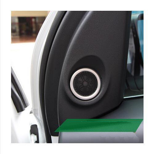 ABS Chrome trim High sound cover ring decoration 2pcs/set Car Accessories For Land rover freelander 2