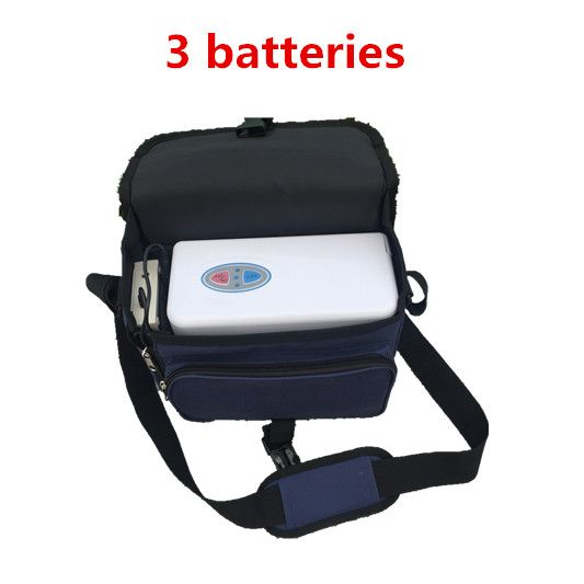 COXTOD 3 batteries Genuine mini Portable Oxygen Concentrator for home travel and car use