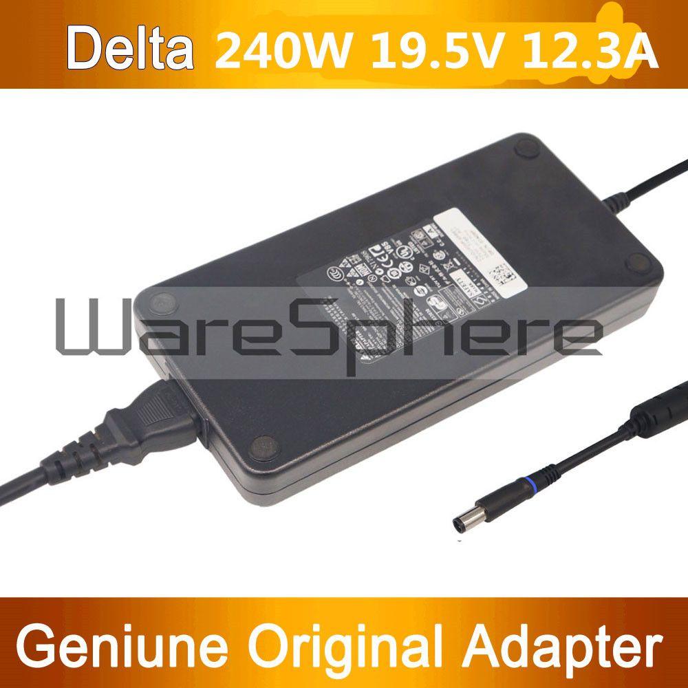 Neue 240 Watt 19,5 V 12.3A PA-9E AC DC Netzteil Ladegerät Netzkabel für Dell Alienware M17X R2 M17X R3 M6600 M6700 J211H FWCRC