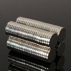 Banyak Tipis Kecil Neodymium Magnet Cakram N52 Kerajinan Reborn Kulkas DIY NdFeB Bahan Magnetik 50 Pcs 8 Mm Diameter X 1 Mm