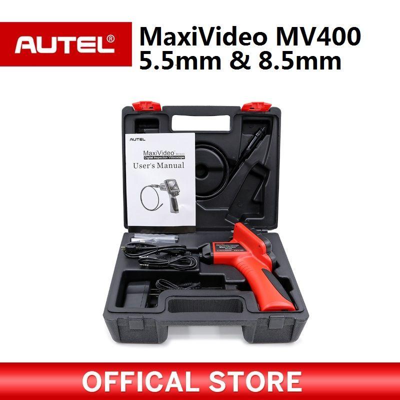Autel Maxivideo MV400 5.5mm Digital Videoscope with 8.5mm diameter imager head inspection camera MV 400 Multipurpose Videoscope