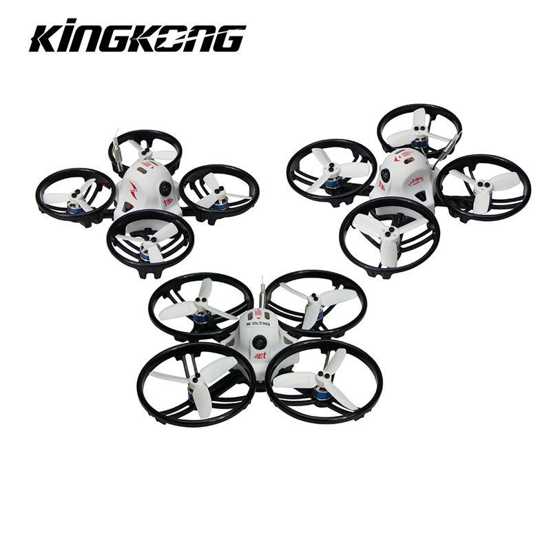 Kingkong ET Series ET100 100mm Micro FPV Racing Drone 800TVL Camera 16CH 25mW/100mW VTX RC Quadcopter BNF VS Kingkong Tiny6