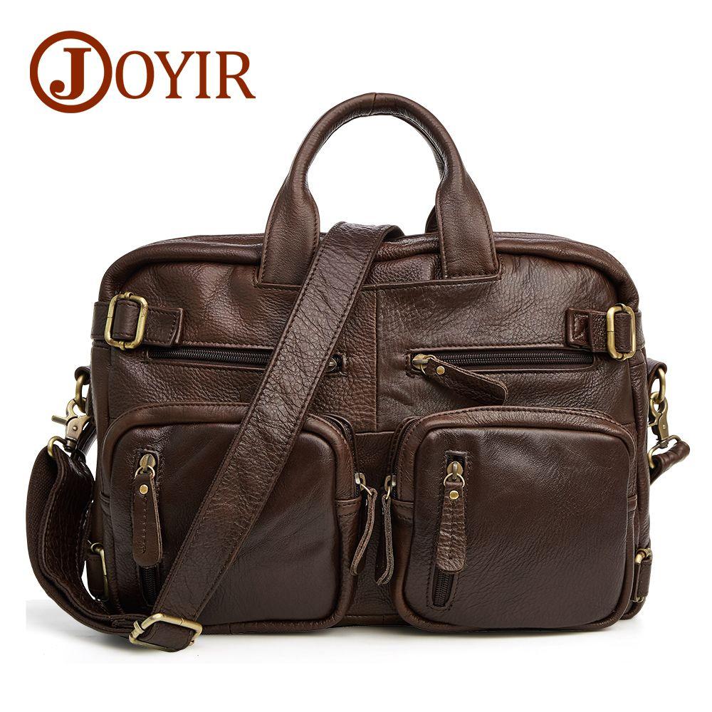JOYIR sacs à main design en cuir véritable sac de voyage hommes sacs de voyage Vintage bagages multi-fonction grand sac de sport sac de week-end