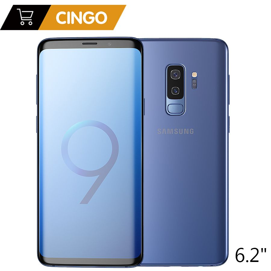Original Samsung Galaxy S9 Plus 6,2 zoll Dual Sim 6 GB RAM 64 GB/128 GB ROM Löwenmaul 845 Android 8.0 Fingerprint LTE Mobilen telefon