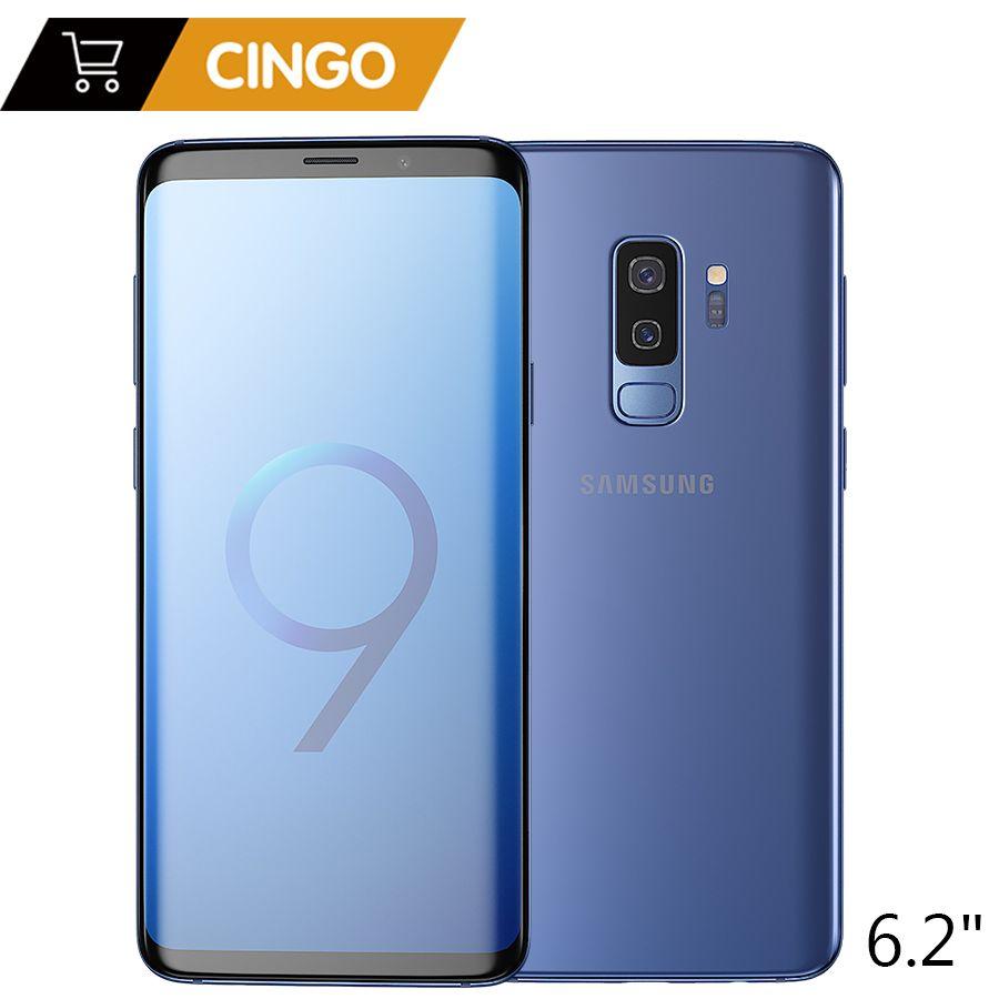 Original Samsung Galaxy S9 Plus 6.2 inch Dual Sim 6GB RAM 64GB/128GB ROM Snapdragon 845 Android 8.0 Fingerprint LTE Mobile Phone