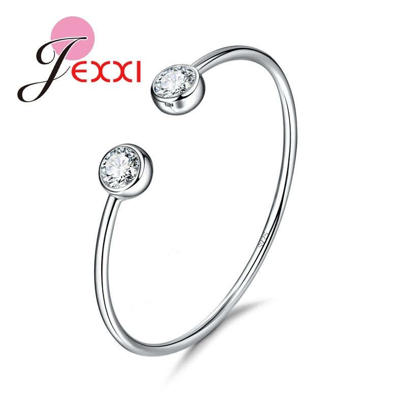 Giemi Genuine Fine 925 Sterling Silver Charming Jewelry Bracelet Bangles Women Fashion Accessories Factory Price Free Shipping