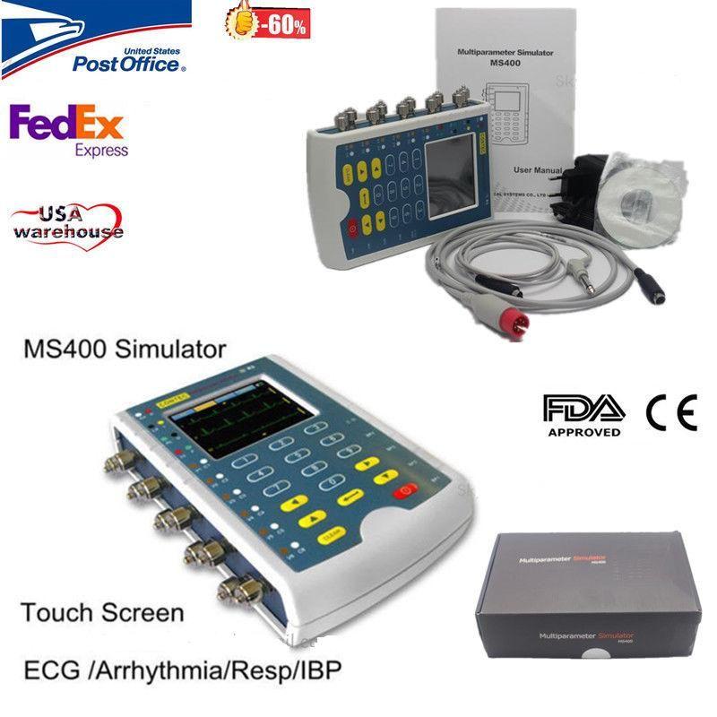 CONTEC MS400 Tragbare Tiermulti Touch Farbe Patienten Monitor Simulator