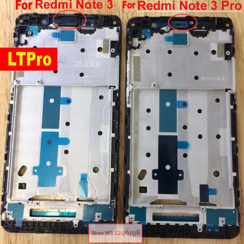 LTPro NEW For Xiaomi Redmi Note 3 / Note 3 Pro Screen LCD Supporting Middle Frame Front Bezel Housing Replacement Parts