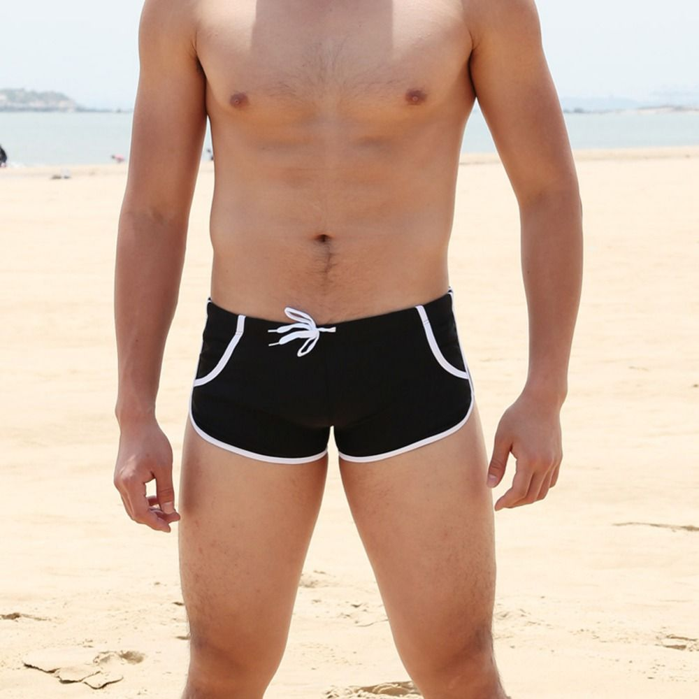 Bademode Männer Breathable männer Badeanzüge Surf Board Badehose Boxer Briefs Sunga Badeanzüge Maillot De Bain Strand Shorts