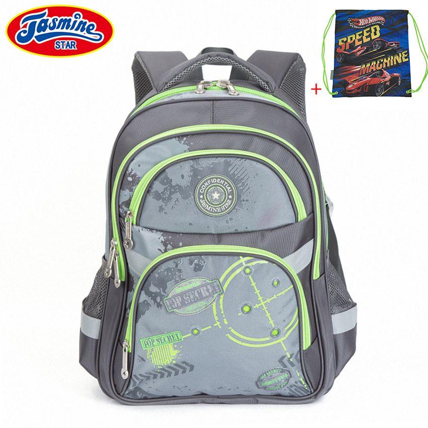 Jasminestar детей школьный рюкзак подросток большой Водонепроницаемый ортопедические студент Класс 1-6 Начальная школа Сумки для Обувь для мальч...