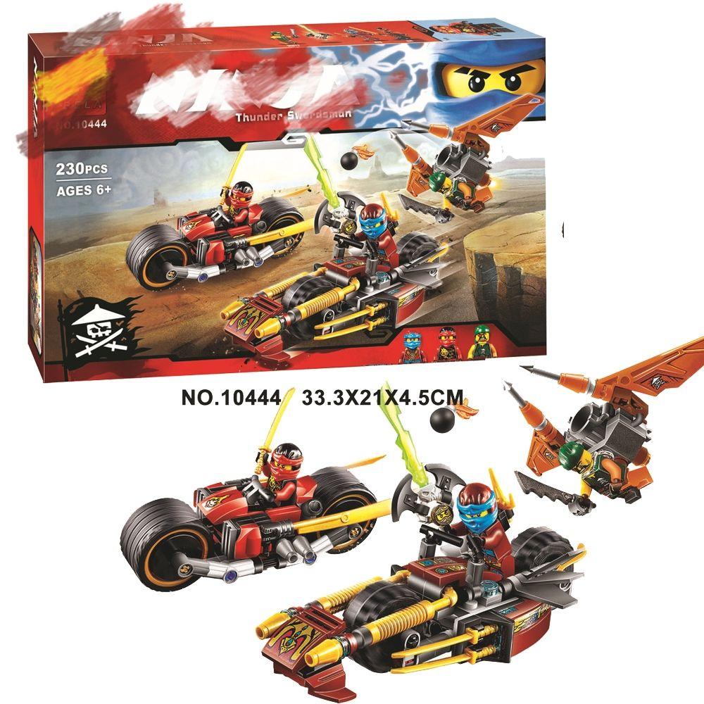 New Ninjago Ninja Bike Chase Building Blocks Sets Diy Bricks Educational toys 70600 Compatible with Lego Best Gift