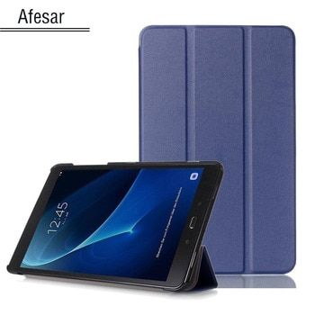 SM-T580 Tab A6 10.1 2016 Slim Smart Case Cover- For Samsung Galaxy Tab A 10.1 T585 T587 tablet book flip cover case magnet stand