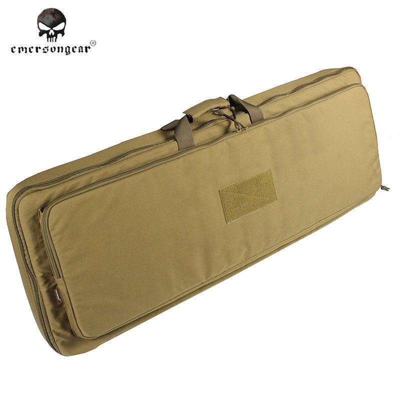 Emerson 1M Enhanced Weight Gun Case Military Hunting Shooting Gun Protection 100cm Dual AEG Rifle Carrying Case Tactical Bag