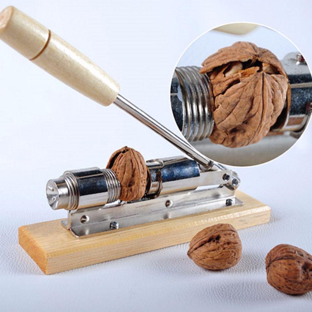 Heavy Duty Pecan Filbert Walnut Nut Hazelnut Hazel Cracker Nutcracker Clamp Plier Sheller Crack almond Kitchen <font><b>Clip</b></font> Tool Machine