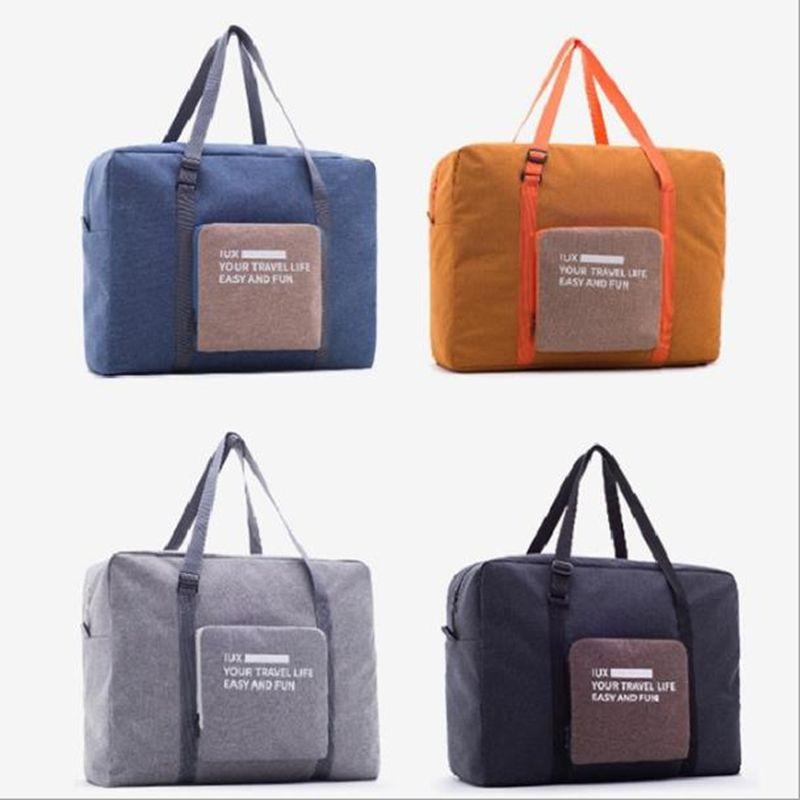 Femmes pliant sac de voyage unisexe bagages voyage sacs à main étanche sac de voyage grande capacité sac femmes Nylon sacs Bolsas