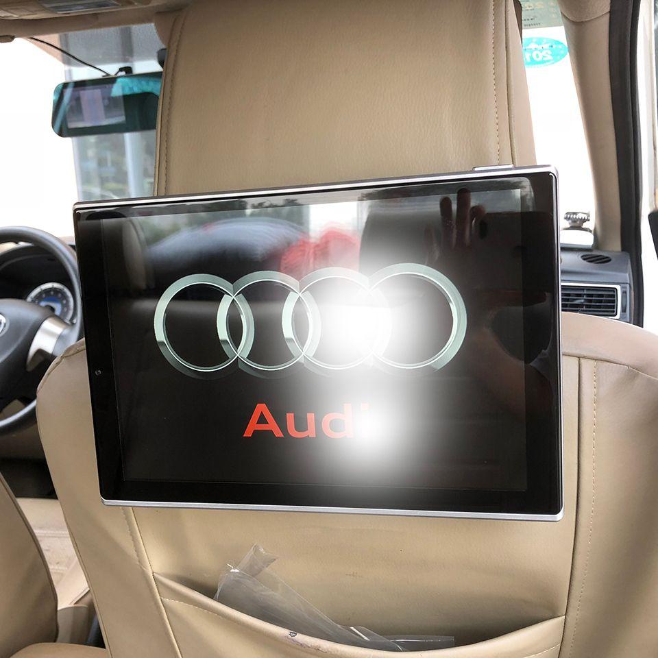 Neue Artikel 2018 Elektronik Auto Fernsehen Android Kopfstütze Mit Monitor Für Audi Q7 Auto Zubehör TV Bildschirm 11,8 zoll 2 stücke