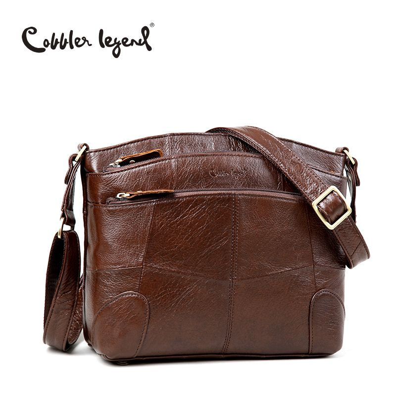 Cobbler Legend Original Brand Women Shoulder Bag Genuine Leather Ladies Crossbody Bags 2018 New Fashion Handbag For Female Bolsa