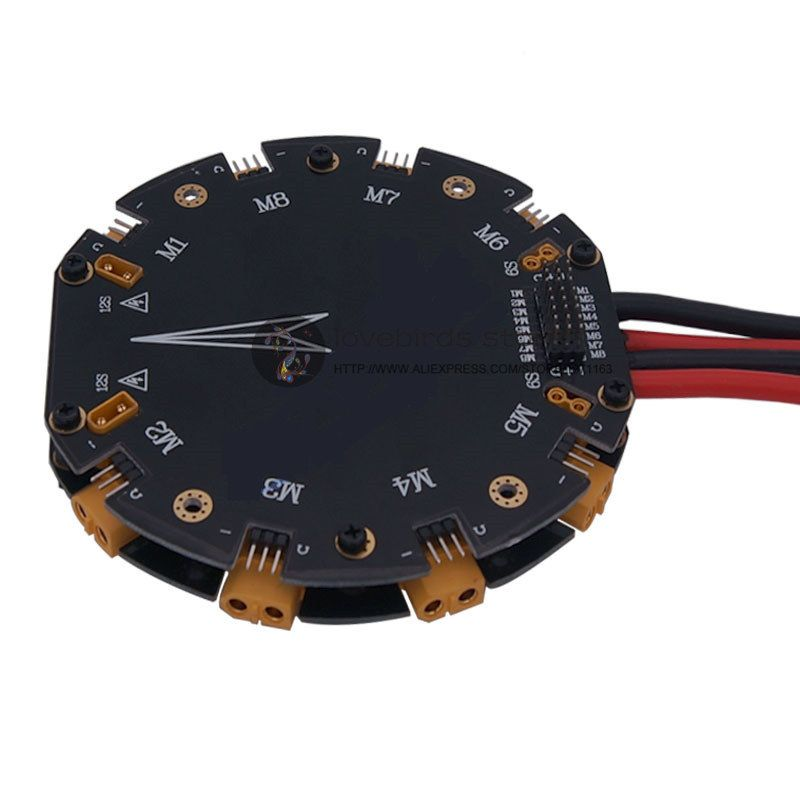Power Distribution Management Module High Current PDB 12S 480A High Current for DIY agricultural drone