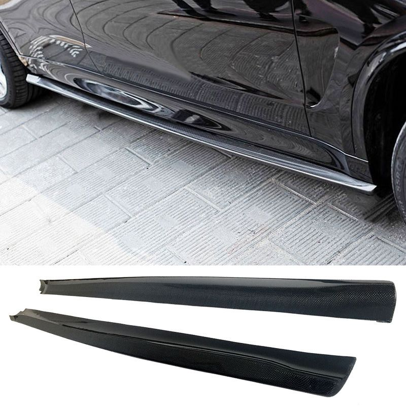 Carbon fiber Side skirts Fit For BMW F16 X6 M-Sport F86 X6M