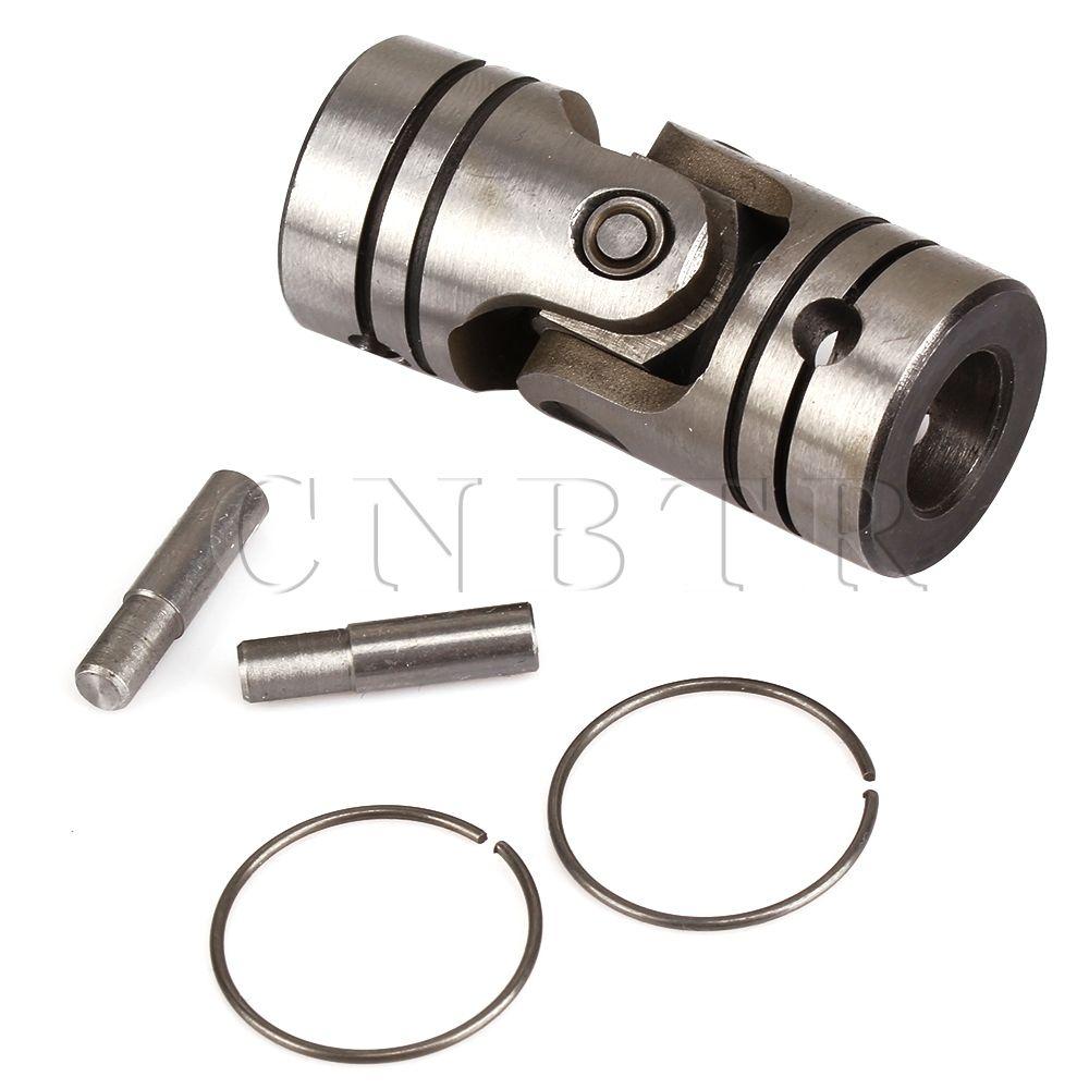 CNBTR 12mm Dia Shaft Coupling Motor Connector DIY Steering Steel Universal Joint